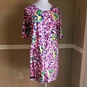 Simply Southern Short Sleeve Shirt Dress XL